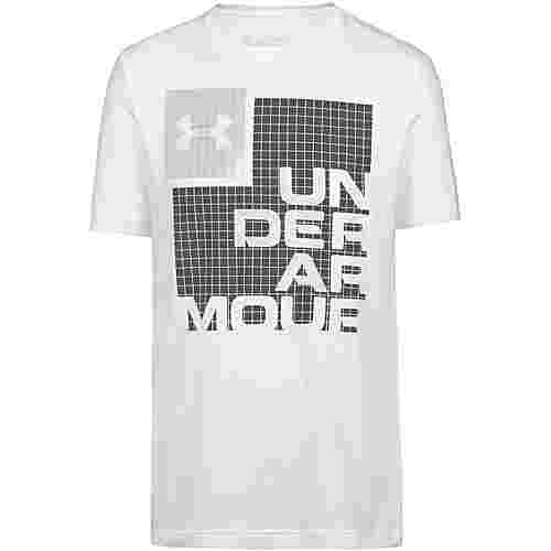 Under Armour Grid T-Shirt Herren white