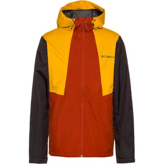 Columbia Inner Limits II Regenjacke Herren carnelian red-bright gold-shark