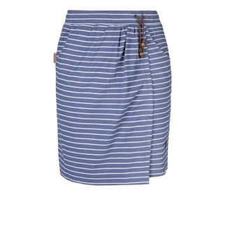 ALIFE AND KICKIN LESLIE Minirock Damen nightblue stripes
