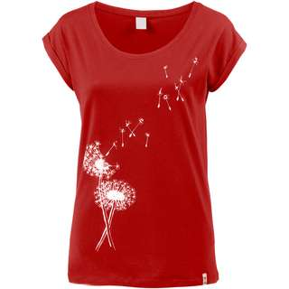 iriedaily Pusteblume T-Shirt Damen masala