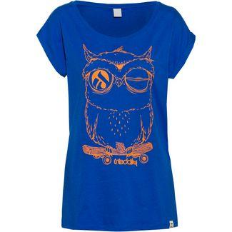 iriedaily Skateowl 2 T-Shirt Damen water blue
