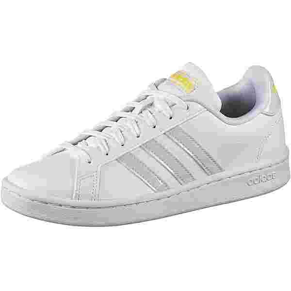adidas Grand Court Sneaker Damen ftwr white-mint