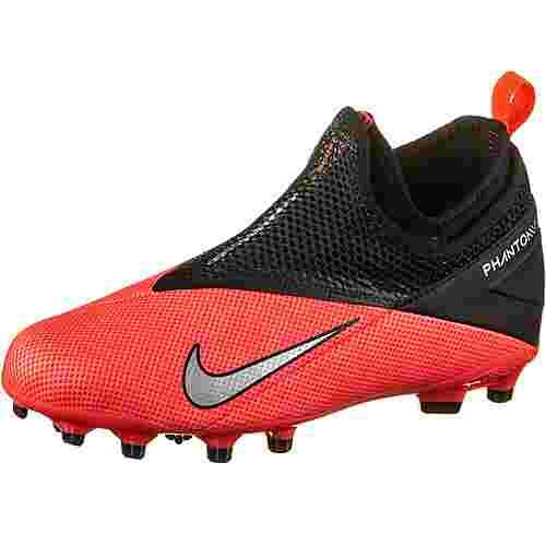 Nike JR PHNTM VSN 2 ACADEMY DF FGMG Fußballschuhe Kinder laser crimson-metallic silver-black