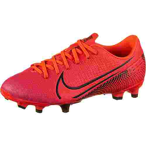Nike JR MERCURIAL VAPOR 13 ACADEMY FG/MG Fußballschuhe Kinder laser crimson-black-laser crimson