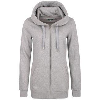 adidas Essentials Linear Fleece Sweatjacke Damen grau im Online Shop von SportScheck kaufen
