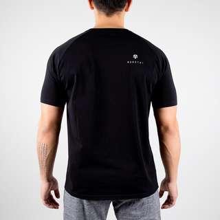 MOROTAI Premium Block Logo Shirt T-Shirt Herren Schwarz