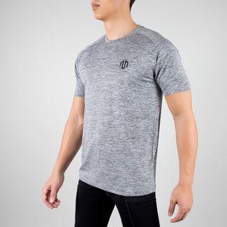 MOROTAI Performance Basic 2.0 T-Shirt Herren Grau Melange