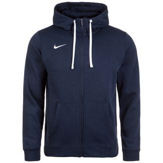 Nike Full Zip FLC Club19 Trainingsjacke Herren dunkelblau / weiß