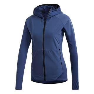 adidas TERREX Skyclimb Fleece Windbreaker Windbreaker Damen Blau