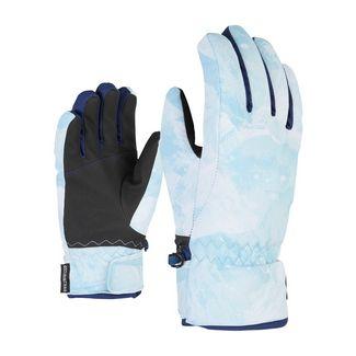 Ziener Outdoorhandschuhe hellblau
