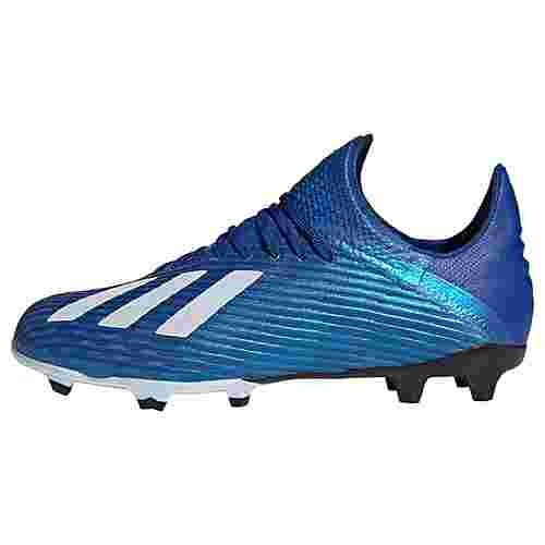 adidas X 19.1 FG Fußballschuh Fußballschuhe Kinder Royal Blue / Cloud White / Core Black