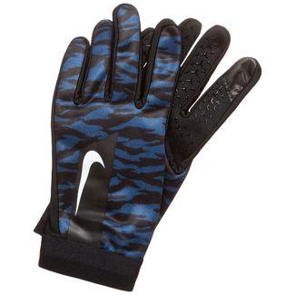 Nike HyperWarm Academy Fitnesshandschuhe Herren schwarz / blau