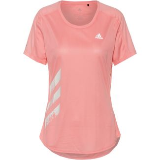 adidas Run it Laufshirt Damen glory pink