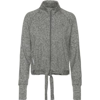 PUMA Yoga Kapuzenjacke Damen medium grey heather