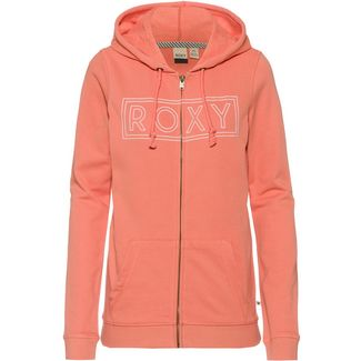 Roxy Sweatjacke Damen terra cotta