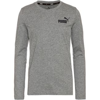 PUMA ESS Sweatshirt Kinder medium gray heather