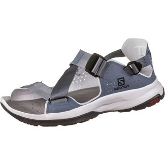 Salomon Tech Sandalen Outdoorsandalen Damen flint stone heather ebony