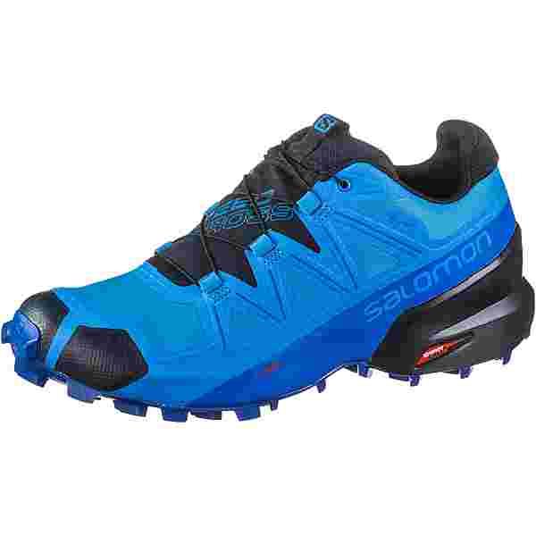 Salomon GTX Speedcross 5 Trailrunning Schuhe Herren blue aster-lapis blue-navy blazer