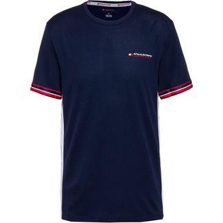 Tommy Sport T-Shirt Herren black iris