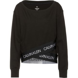 Calvin Klein Active Icon Sweatshirt Damen ck black