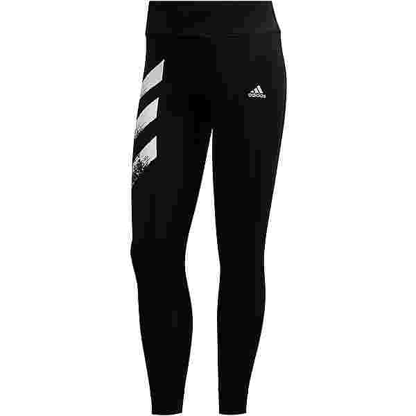 adidas OWN THE RUN RESPONSE AEROREADY Lauftights Damen black