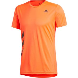 adidas Run It Funktionsshirt Herren solar red
