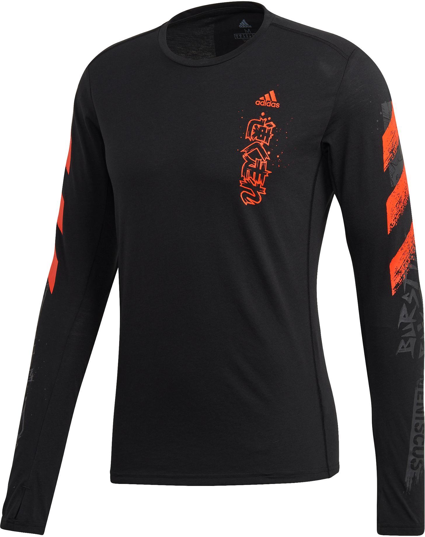 Adidas Langarmshirt Herren black im Online Shop von
