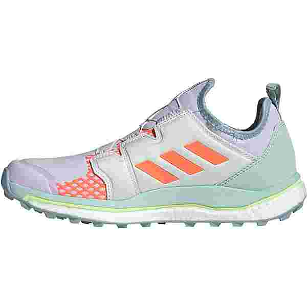 adidas AGRAVIC BOA Trailrunning Schuhe Damen purple tint