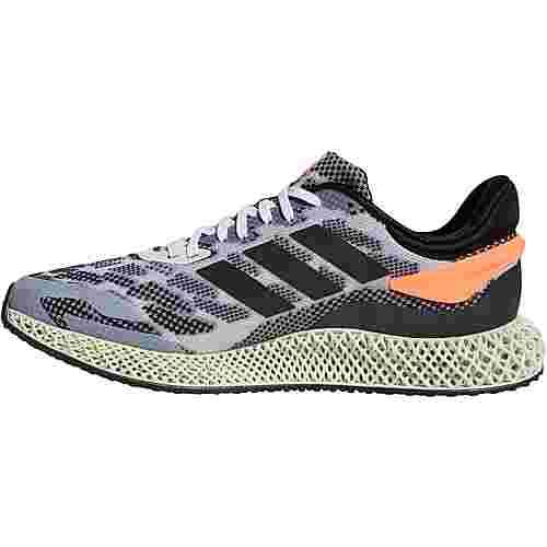 adidas Alphaedge 4 D Run 1.0 Laufschuhe Herren ftwr white-core black-signal coral