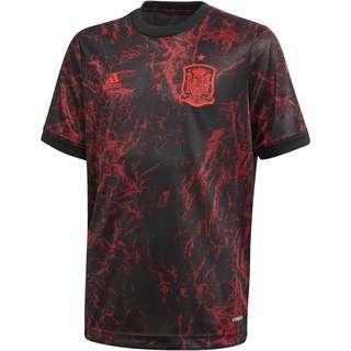 adidas Spanien EM 2021 Prematch Funktionsshirt Kinder black