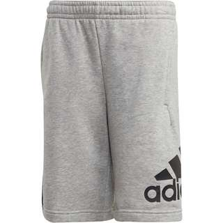 adidas JB BOS SHORT Sweathose Kinder medium grey heather
