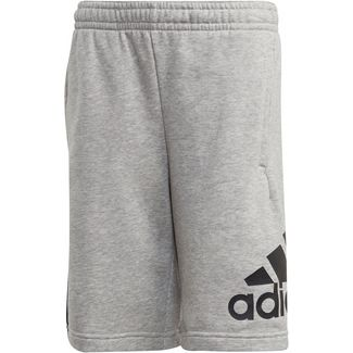 adidas JB BOS SHORT Sweathose Kinder medium grey heather