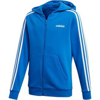 adidas YB E 3S FZ HD Langarmshirt Kinder blue