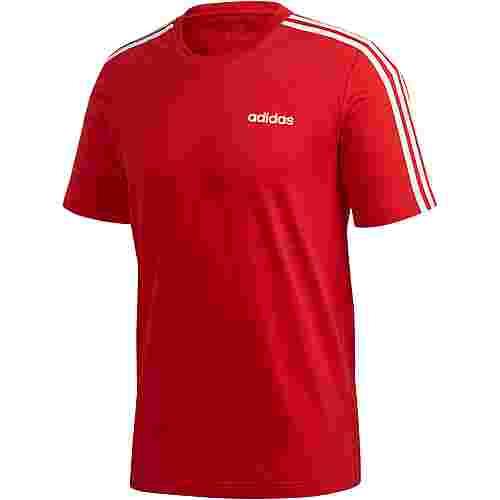 adidas 3S T-Shirt Herren scarlet