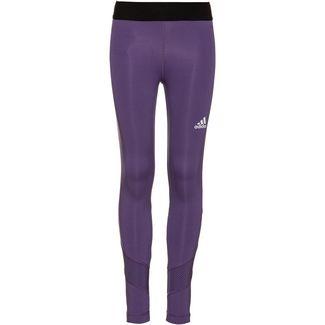 adidas JG TR XFG TIGHT Tights Kinder tech purple