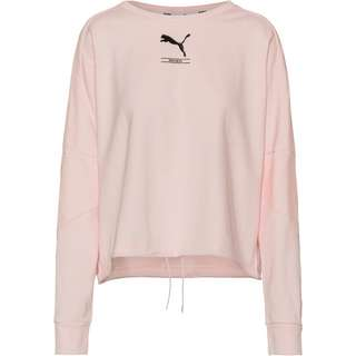 PUMA Nu-Tility Sweatshirt Damen rosewater