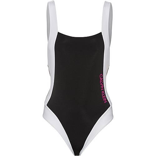 Calvin Klein Badeanzug Damen pvh black im Online Shop von SportScheck kaufen