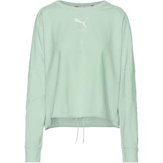 PUMA Nu-Tility Sweatshirt Damen mist green