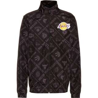 New Era Los Angeles Lakers Trainingsjacke Herren schwarz