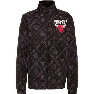 New Era Chicago Bulls Trainingsjacke Herren schwarz