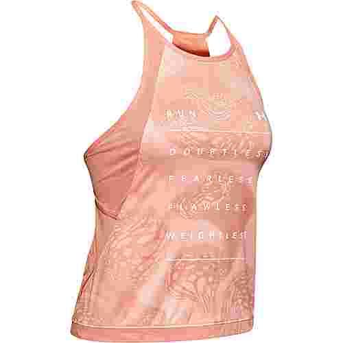Under Armour Qualifier ISO-Chill Funktionstank Damen pink