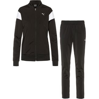 PUMA Trainingsanzug Damen puma black