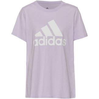 adidas Plus Size T-Shirt Damen purple tint