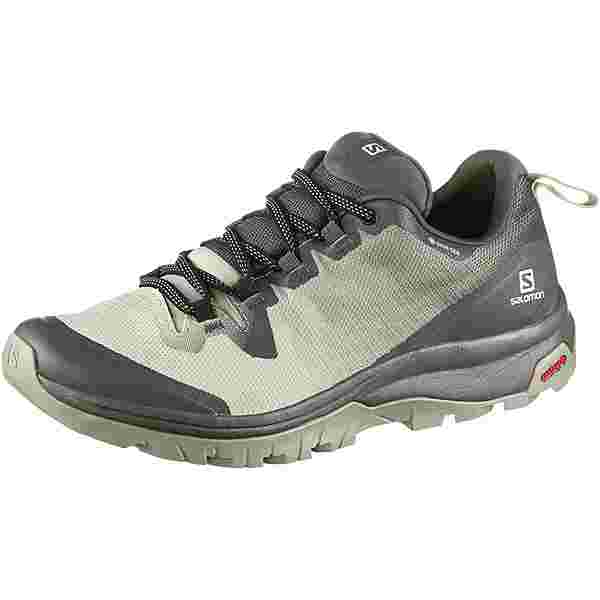Salomon GTX Vaya Wanderschuhe Damen urban chic-mineral gray-shadow