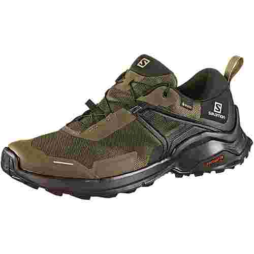 Salomon GTX® X Raise Wanderschuhe Herren grape leaf black