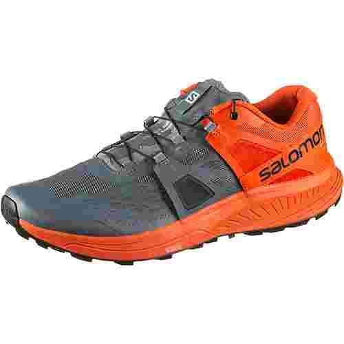 Salomon Ultra Pro Trailrunning Schuhe Herren stormy weather cherry tomato black
