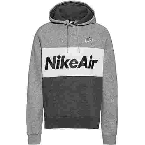 Nike NSW Air Hoodie Herren dark grey heather-white-white
