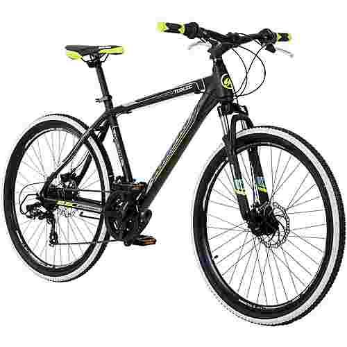 Galano Toxic 26 Zoll Mountainbike Hardtail MTB MTB Hardtail schwarz/grün