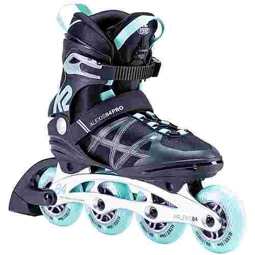K2 Alexis 84 Pro Inline-Skates Damen black light blue