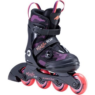 K2 Marlee BOA Inline-Skates Kinder black purple